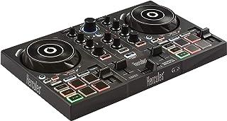 هرکول DJControl Inpulse 200 | قابل حمل USB DJ Controller با راهنمای Beatmatch، DJ آکادمی و کامل DJ نرم افزار DJUCED گنجانده شده است