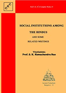 Social Institutions Among the Hindus