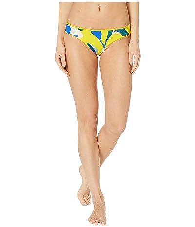 Maaji Sublime Reversible Signature Coverage Bikini Bottoms (Submarine Yellow Rib) Women
