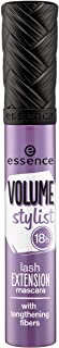 essence | Volume Stylist 18Hr Lash Extension with Fiber Mascara | Cruelty Free - Black