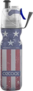 O2COOL ArcticSqueeze Insulated Mist 'N Sip Squeeze Bottle 20 oz., Patriotic Two