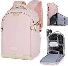 BAGSMART Camera Backpack, DSLR SLR Canvas Camera Bag Fits...