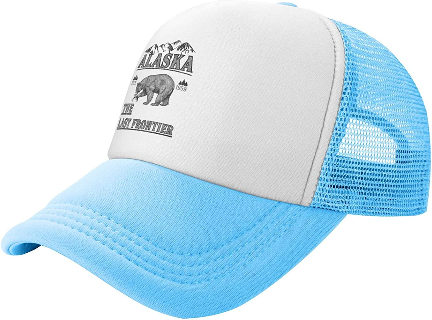 Alaska The Last Frontier Kids Max 67% OFF Baseball for Sun Credence Hat Protecti Boys