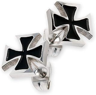 Edelstahl Eisernes Kreuz  ca 8 mm Fashionohrstecker