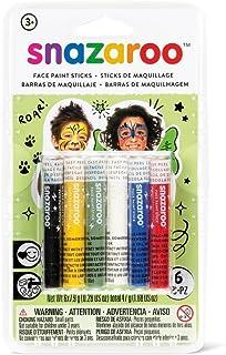 Snazaroo Unisex 6 Face Painting Sticks Set, Multicolor