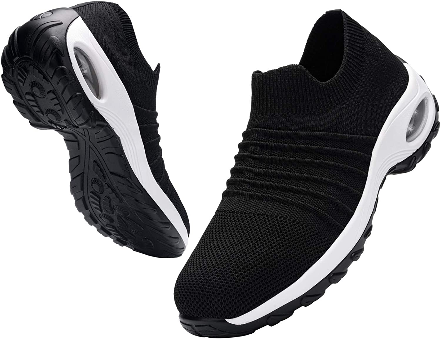 Shoes Women/'s Lightweight Toe Work Shoes Trainers Casual Walking Sneakers