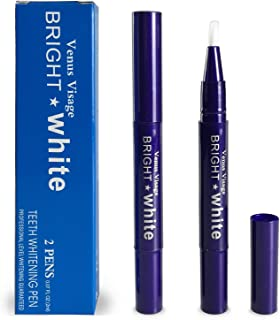 Venus Visage Teeth Whitening Pen(2 Pens), 20+ Uses, Effective&Painless, No Sensitivity, Travel-Friendly, Easy to Use, Beautiful White Smile, Natural Mint Flavor