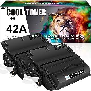 Cool Toner Compatible Toner Cartridge Replacement for HP 42A Q5942A 42X Q5942X 38A Q1338A HP Laserjet 4250 4200 4350 4300 ...