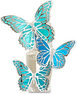 Bath And Body Works Unqiue Inspired Semi-Transparent Glass Look Butterfly Style Wallflowers Fragrance Plug For Rooms, Loun...