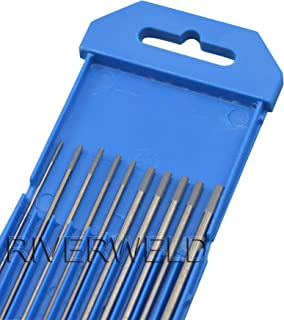 electrodo de tungsteno 2 unidades 2/% Torium 2 piezas de tungsteno puro 2 piezas 1,5/% Lanthane TEN-HIGH soldadura TIG embalaje mixto 2 piezas 2/% cerio 2 piezas 2/% Lantano