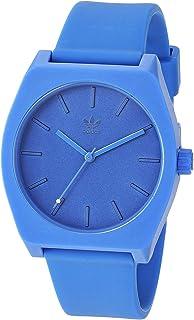 ساعة اديداس للرجال عملية Sp1 Z10 2490-00 زرقاء كوارتز سليكون