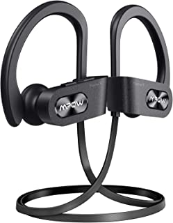 Mpow Flame S Bluetooth Headphones Sports, aptX-HD Bass+ Loud Sound, Handsfree Call,BT5.0,12H Playtime, IPX7 Waterproof, CV...