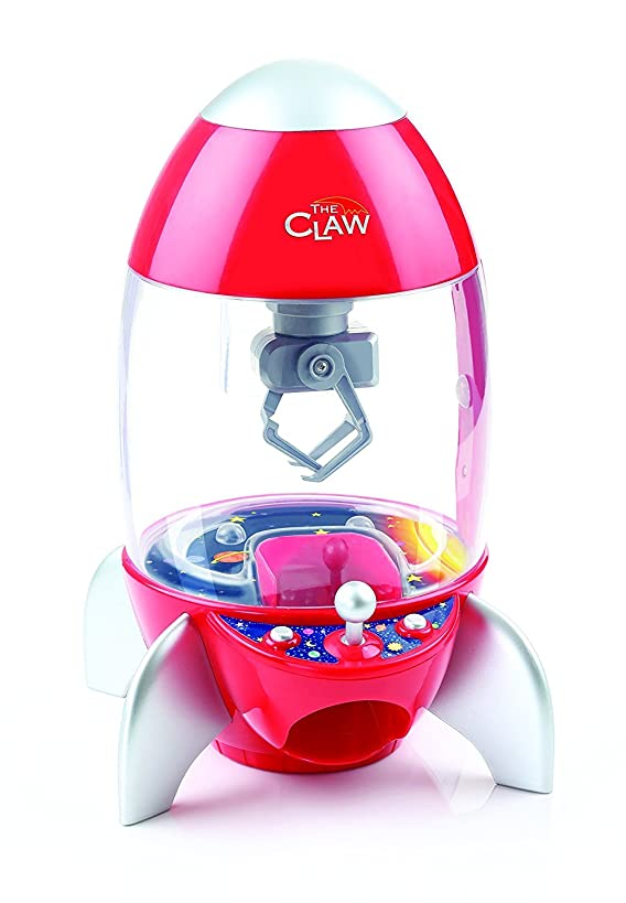 Etna Products TT The Rocket Ship Claw Toy Grabber Machine with Multi-Color Light Display and Arcade Carnival Sounds