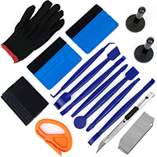 CARTINTS Auto Window Tint Kit Vinyl Wrap Tool Window Film Installation Kit with Mini Squeegee Vinyl Knife Air Release Pen