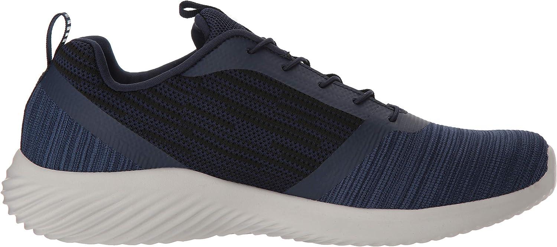 Skechers Herren Bounder-52504 Sneaker, Schwarz Blau Navy Nvy siVRJ
