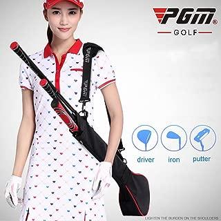 PGM Golf Sunday Bag Golf Practice Bag, Can Hold 3 Golf Clubs