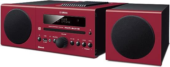 Yamaha MCR-B043RE Desktop Audio System, Red