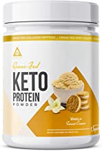 Sponsored Ad - Grass-fed Keto Protein Powder: Collagen Peptides   Pure C8 MCT Oil   Irish Butter   Whey Protein Isolate   ...