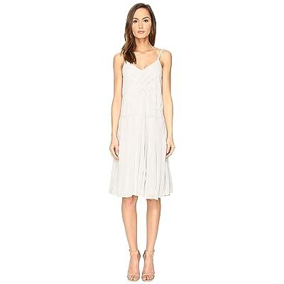 RED VALENTINO Georgette and Lace Dress (Alluminio) Women