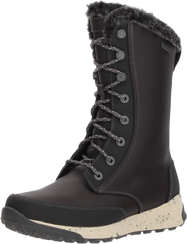 Chaco Women's Borealis Tall WP Hiking Shoe, Black, 06.5 M US