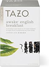 Tazo Awake English Breakfast Tea Bags For a Bold Traditional Breakfast-Style Tea Black Tea Highly Caffeinated Tea 20 Tea Bags 6Ct