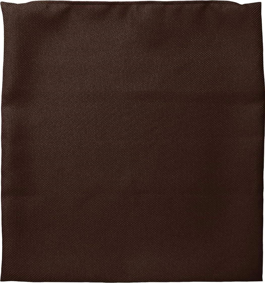 ペルメル優遇露骨な座布団カバー 約59×63cm 八端判 ファイン ブラウン 日本製