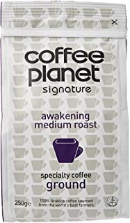 Coffee Planet Awakening Medium Roast Ground Coffee, 250g
