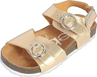 fd43383cbcc84d bebe Girls Open Toe Footbed Sandal (Toddler)