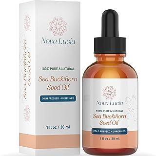 Sea Buckthorn Oil Hydrating Face Oil Skin Moisturizer for Spot Treatment Hair Oil Hair Treatment Anti Aging Nail Oil Compa...