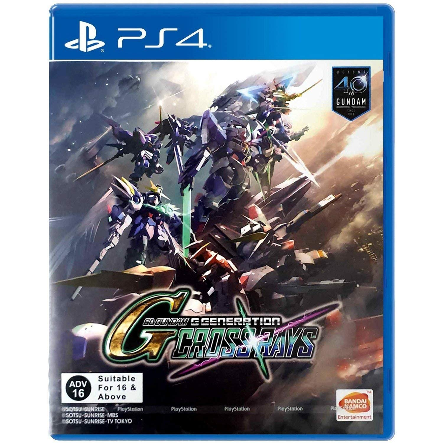 SD Gundam Soldering G Generations Crossrays 4 English At the price of surprise for PlayStation