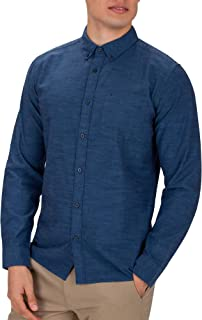 Men's One & Only Textured Long Sleeve Button Up