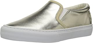 Polo Ralph Lauren Kids Kids' Carlee Twin Gore Gold Metallic Loafer