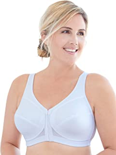 Glamorise Women's Plus-Size Magic Lift Posture Back Support Bra
