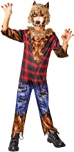 Rubies - Hombre Lobo - Disfraz de Disfraces de Halloween para niños - Grande - 128cm - Edad 7-8