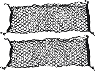 VICASKY Caminhão de Carga Pesada Net Stretchable Elastic Armazenamento Organizador Malha Bungee Net Com Ganchos para Carro...