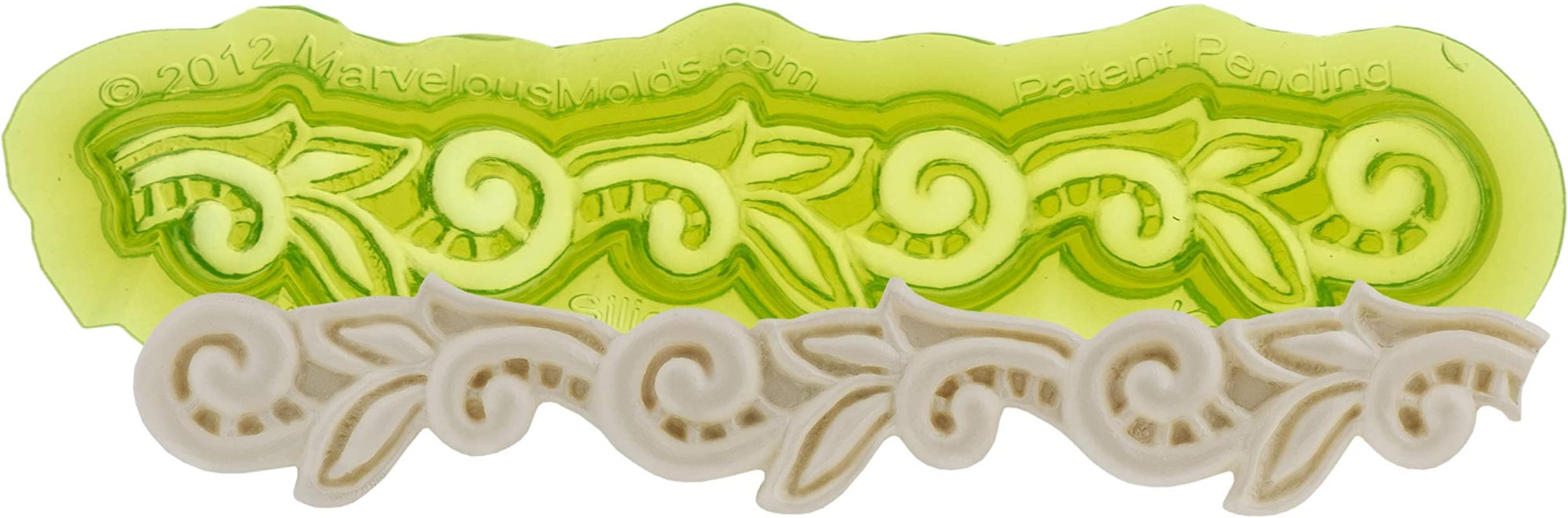 Marvelous Molds Silicone Lace Mold Kelly Cake Decorating With Fondant Gum Paste And Rolled Icing