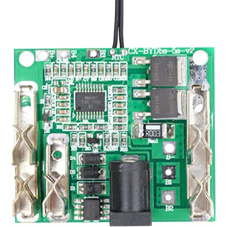 21V 5S 20A 18//21V BMS Li-ion Lithium Battery Protection Circuit Charging Board
