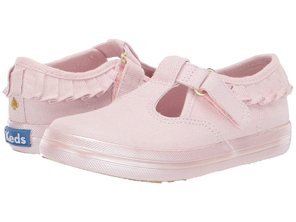 Keds x kate spade new york Kids Daphne Ruffle (Toddler/Little Kid) (Pink) Girl
