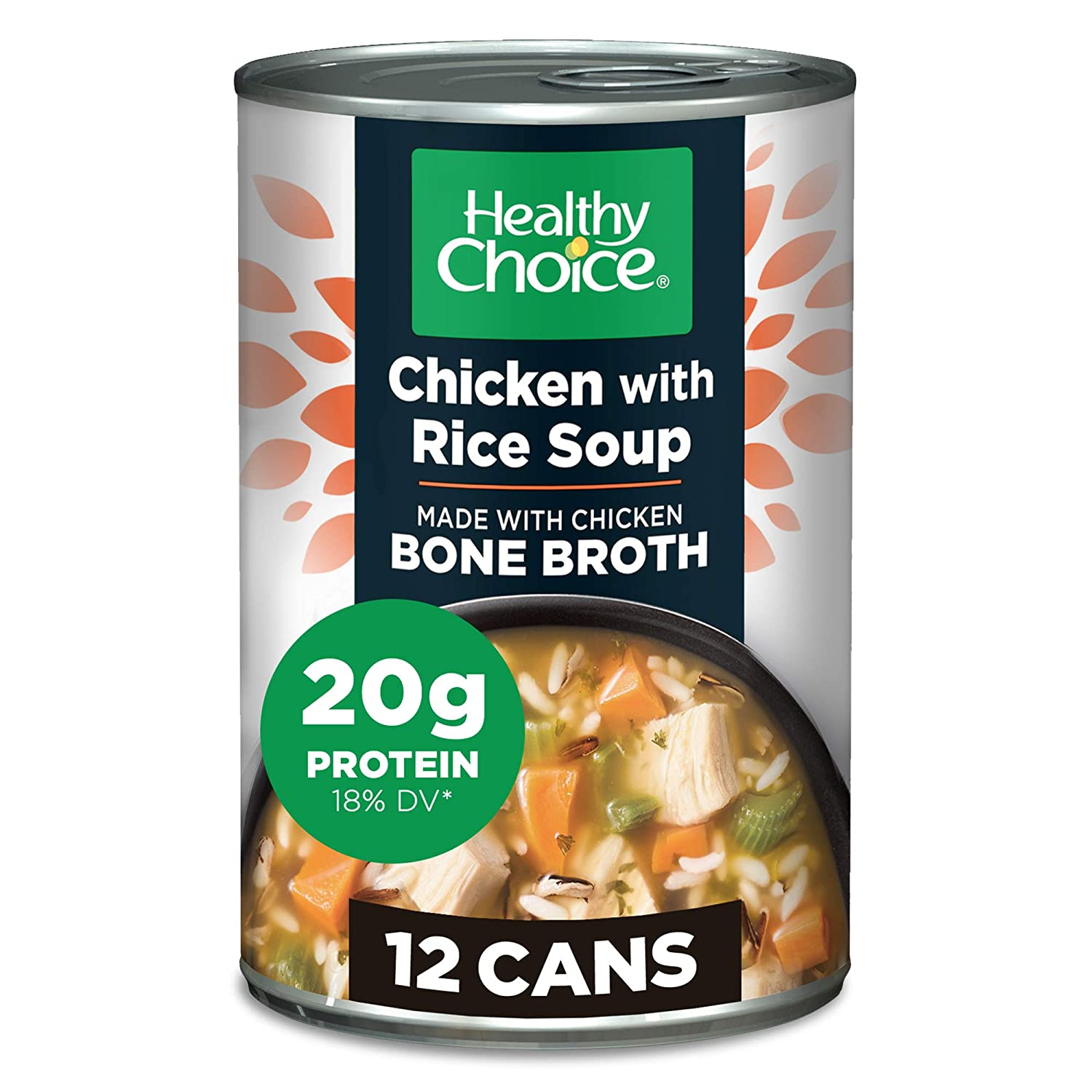 Healthy Choice Chicken Wild Super beauty product restock quality top Rice Soup Of 12 Oz Pack Milwaukee Mall 15
