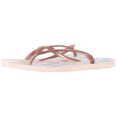 Havaianas Slim Retro Flip Flops (Ballet Rose) Women
