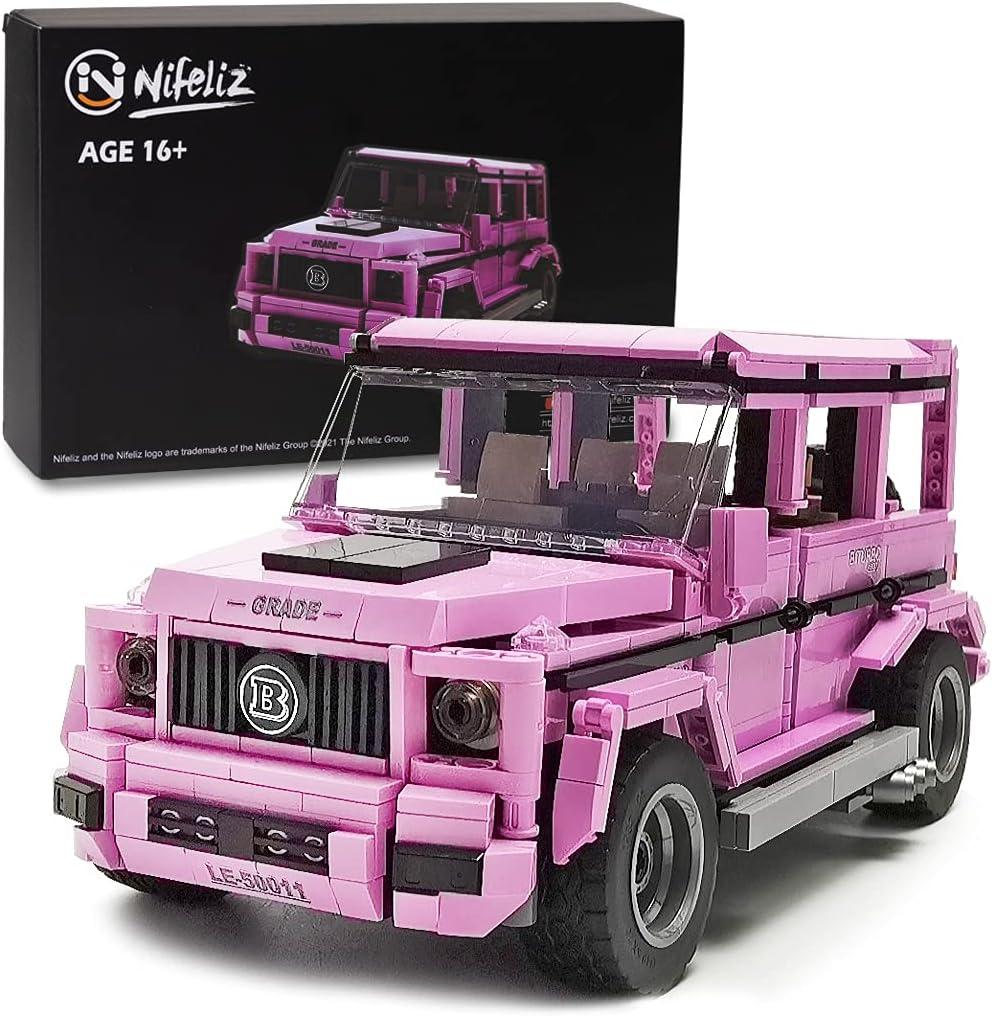 Pink Truck Model Kit