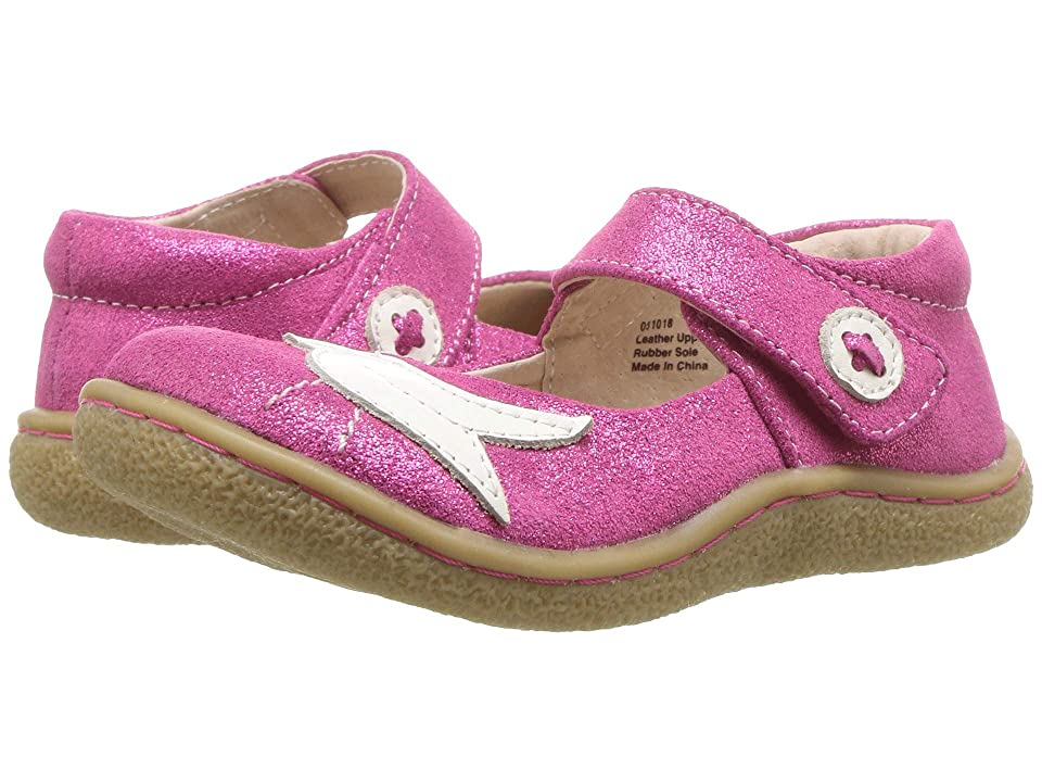 Livie & Luca Pio Pio (Toddler/Little Kid) (Fuchsia Sparkle) Girls Shoes