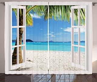 Best beach themed curtain panels Reviews