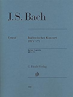 J.S.バッハ: イタリア協奏曲 ヘ長調 BWV 971/原典版(運指なし)/ヘンレ社/ピアノ・ソロ