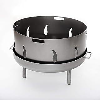 Czaja Funkenschutz mit Flammenmotiv für alle Feuerschalen Durchmesser80cm