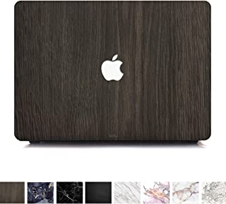 Koru Premium Dark Wood Vinyl Decal Skin Sticker Case Cover for MacBook Pro 13 inch Retina Without CD Drive (Models A1425 and A1502)