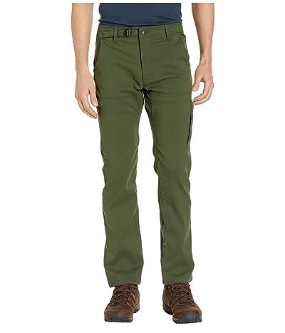 Prana Stretch Zion Straight Pants (Nori Green) Men