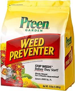 Preen 264107 Garden Weed Preventer - 13 lb. - Covers 2,080 sq. ft.