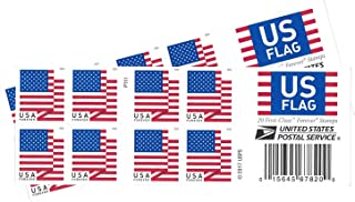 USPS US Flag 2018 Forever Stamps (Book of 40)