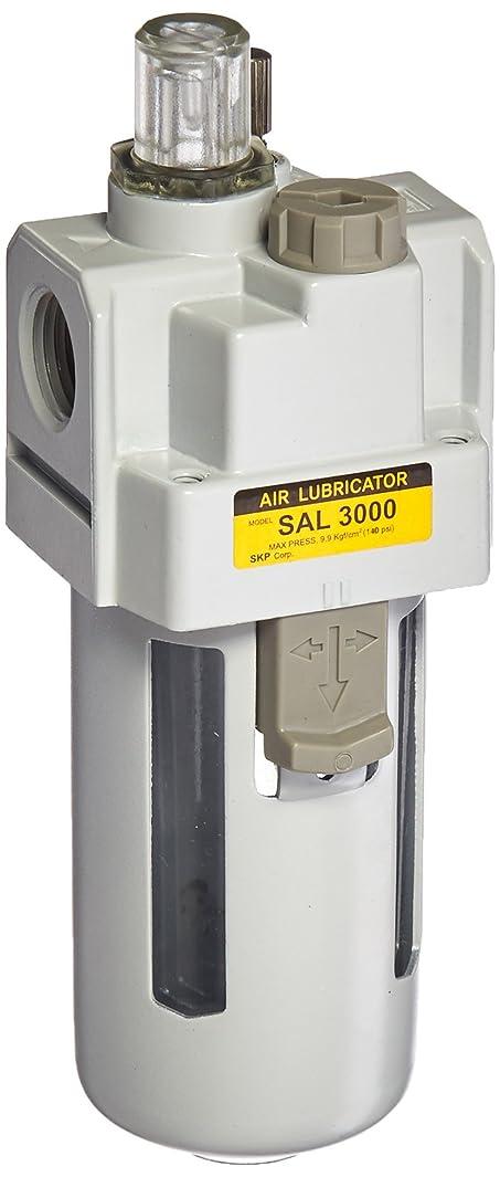 PneumaticPlus SAL3000M-N03B Compressed Air Lubricator, 3/8